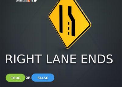 Lane Ends, Merge Left