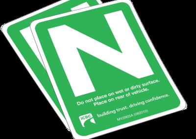 N_Sign_Novice_Driver_sky_driving_school