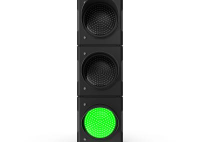Traffic Light Single Green.sky driving school