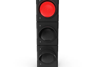 Traffic Light Single Red.sky-driving-school